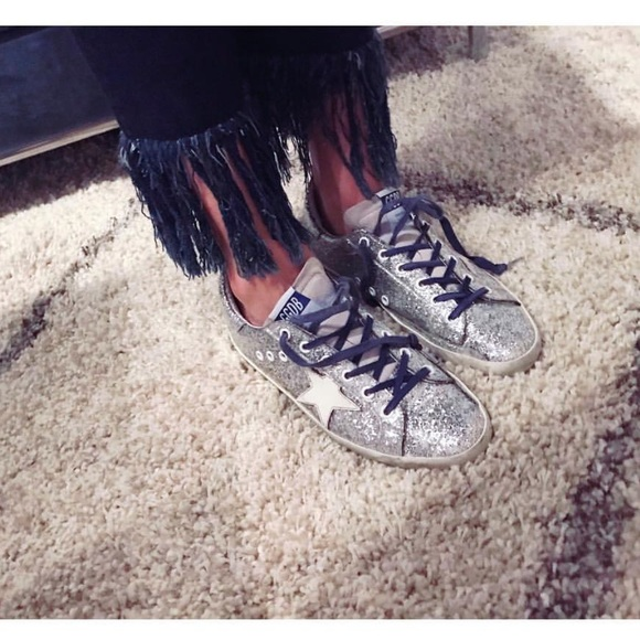 Golden Goose Shoes   Ggdb Silver